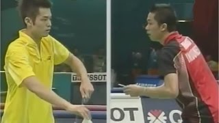 タウフィック・ヒダヤット vs リン・ダン バドミントン アジア大会2006ドーハ MS 決勝