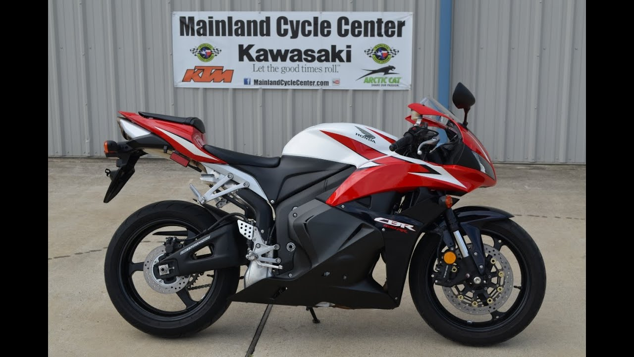 Pre Owned 2009 Honda Cbr600rr Red Blk Only 650 Miles