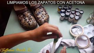 how to paint black shoes