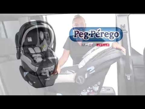Peg Perego Primo Viaggio 4-35 Nido Installation Using Vehicle Belt