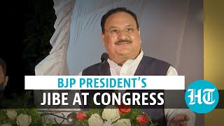 'Congress ends up opposing country while opposing PM Modi': JP Nadda