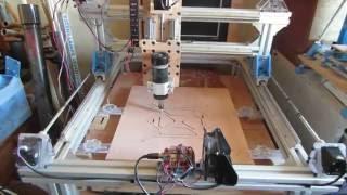 Ma fraiseuse CNC fabrique une imprimante 3D Prusa i3 pour lui tenir compagnie.
