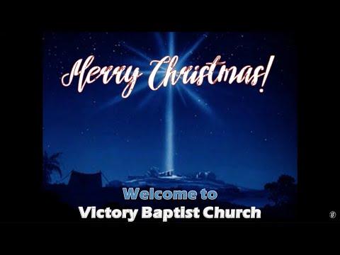 The Wonder Of Christmas · Sunday Morning · 191208 · Pastor Pittman · VBC Livestream