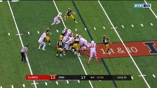 Illinois vs. Iowa (Offense)