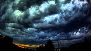 Go Pro storm clouds time lapse