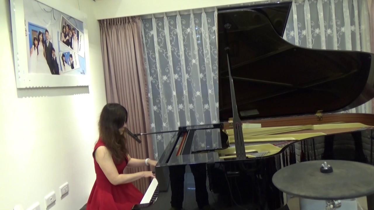 謝謝妳愛我 鋼琴 - YouTube