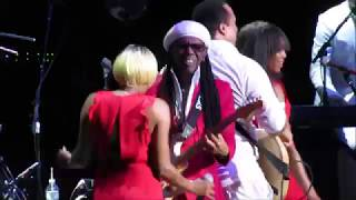 earth wind and fire chic feat nile rodgers madison square garden live 2017