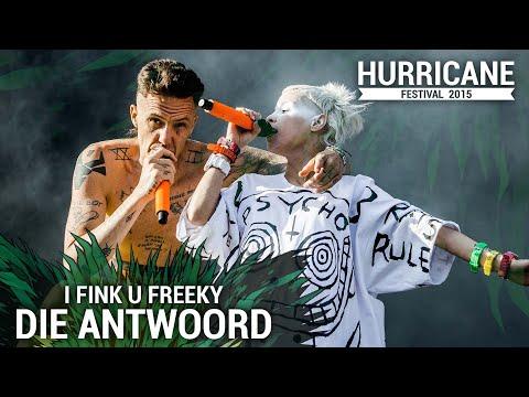 DIE ANTWOORD - I Fink U Freeky (Live At Hurricane Festival 2015)
