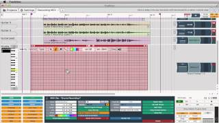 Tracktion 101: Learn Tracktion Now - 14. Recording to MIDI Tracks
