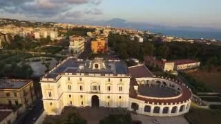 Gli scavi archeologici di ercolano e le ville del ''miglio d'oro'' viste dal drone