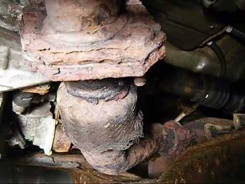 Exhaust Y Pipe Repair Wmv Youtube