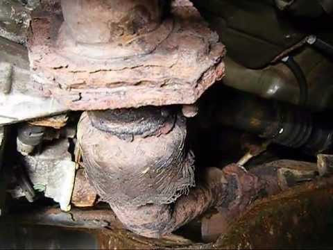 2003 Honda Accord Fuel Filter Location Exhaust Y Pipe Repair Wmv Youtube