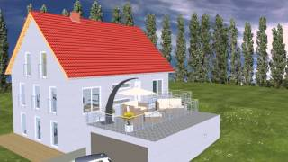 Emi support fertighaus einfamilienhaus einliegerwohnung for Skandinavien haus bauen