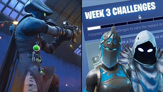 *LIVE* FORTNITE SEASON 7 WEEK 3 CHALLENGES + SECRET BATTLE STAR - ROAD TO 250 SUBS!