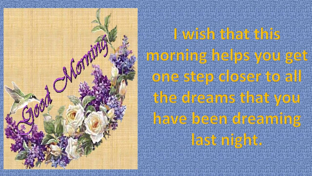 Latest good morning wishes sms greetings whatsapp video message latest good morning wishes sms greetings whatsapp video message youtube kristyandbryce Choice Image