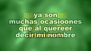 Jose Jose - Y Quíen Puede Ser Karaokes Letras Lyrics - www.LetrasKaraoke.com
