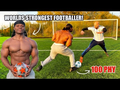I Challenged The World's STRONGEST Footballer To A Pro Competition!