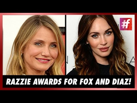 #fame hollywood -​​ Megan Fox And Cameron Diaz Walk Away With Razzie Awards