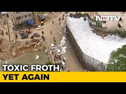 Bengaluru Lake: The Froth of Death