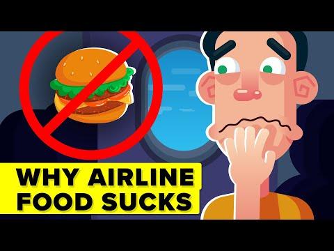 Real Reason Why Airplane Food Tastes So Bad