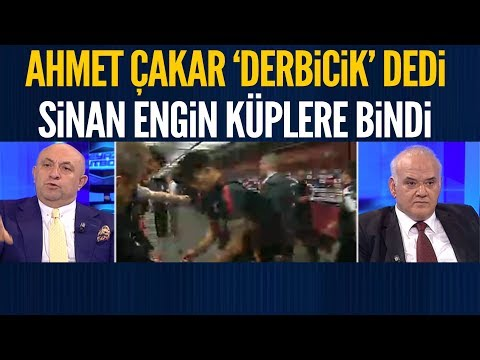 Ahmet Çakar yine 'derbicik' dedi Sinan Engin küplere bindi