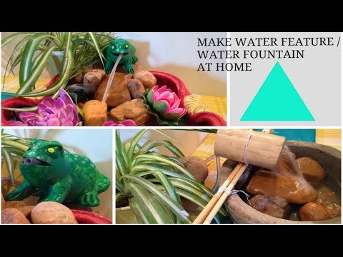 DIY : Water Feature / Water fountain for home / balcony