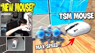 TSM SLAPPIE Shows His Maximum BUILDING & EDITING Speed with New Mouse ( TSM Mouse )