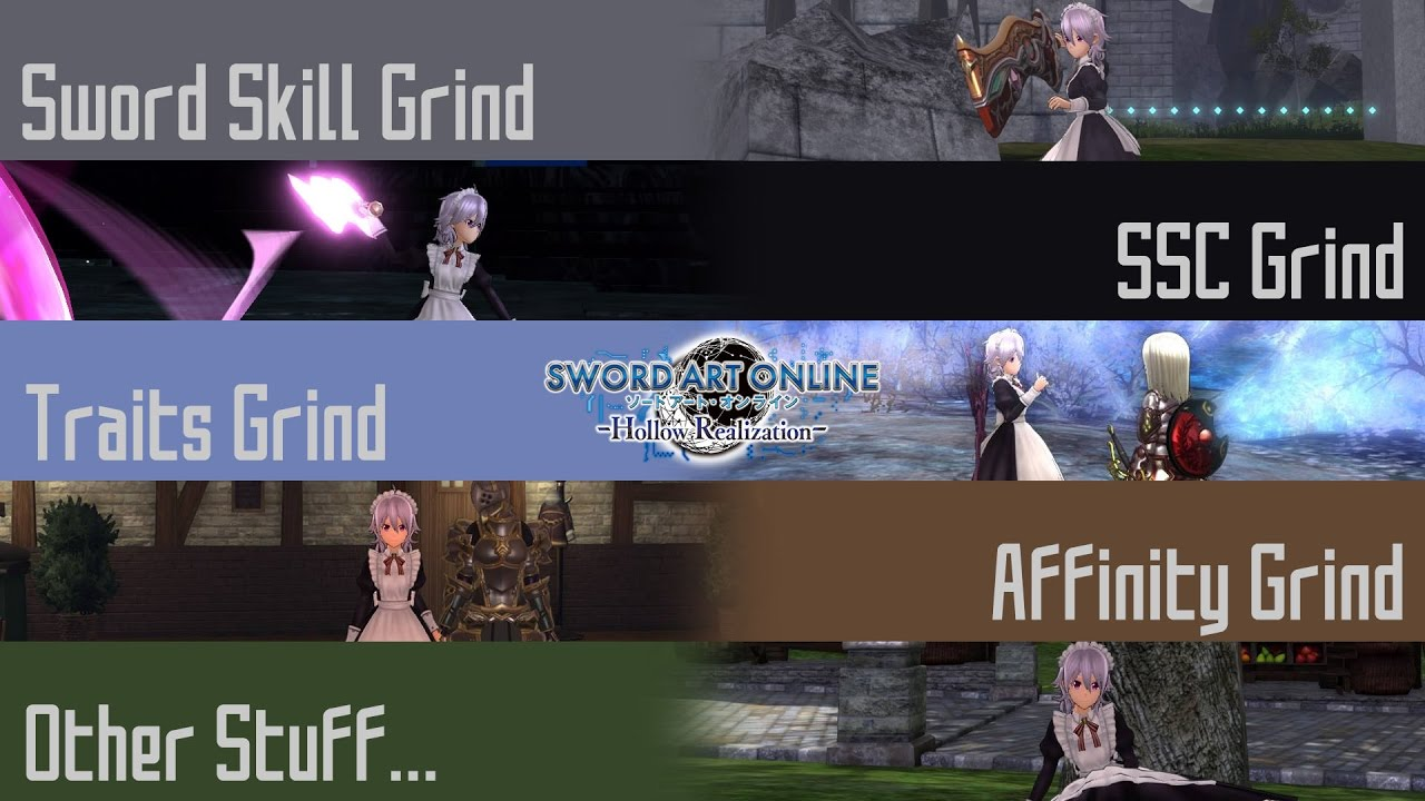 AFK Grind and Stuff - Sword Art Online: Hollow Realization