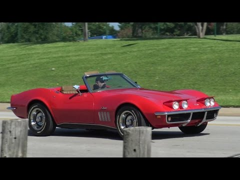 1969 corvette stingray c3 convertible youtube. Black Bedroom Furniture Sets. Home Design Ideas