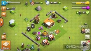 -Como mudar o nome da vila do clash of clans pela 3° vez!!!