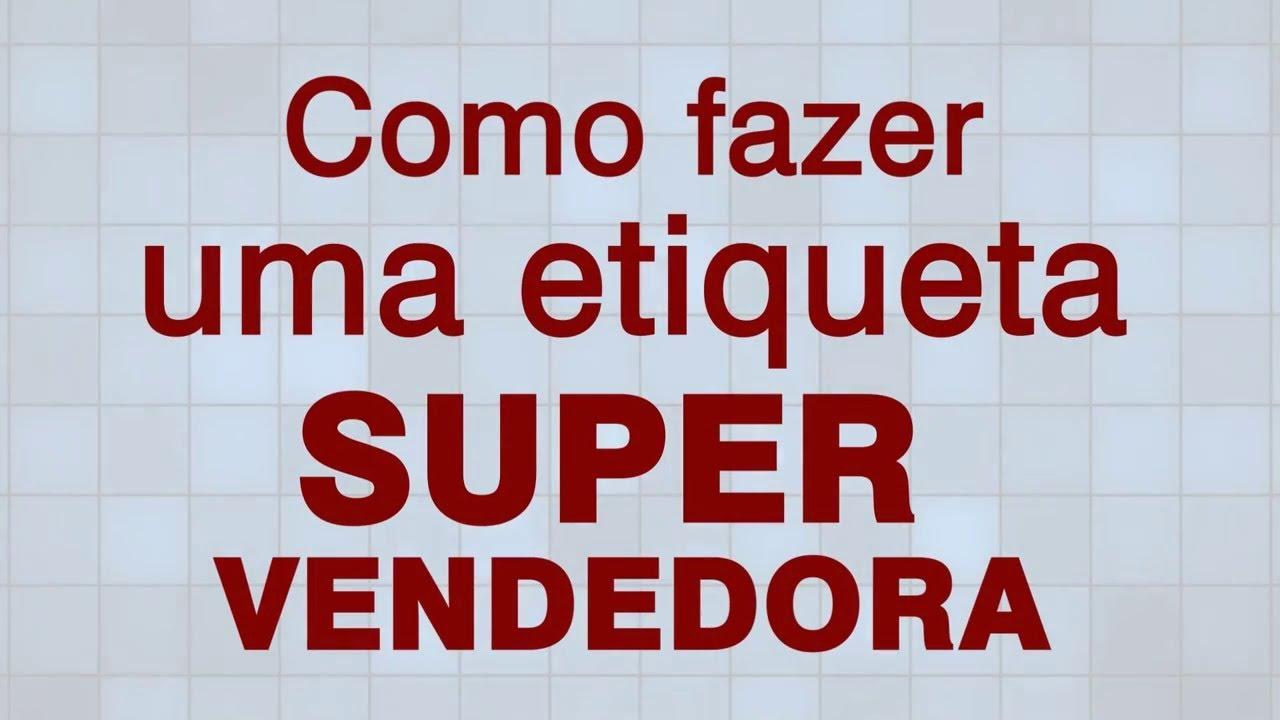 Etiqueta Super Vendedora