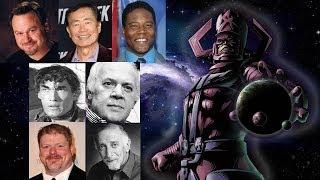 Comparing The Voices - Galactus