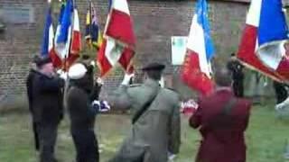 Inauguration de la plaque de Christopher Cox