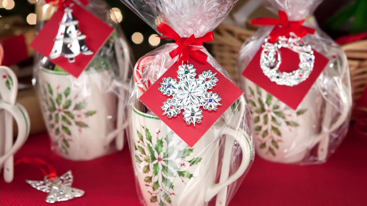 Lenox S/4 Silver-Plated Mini Holiday Ornaments with Gift Box on QVC ...