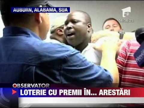 Arestare pentru castigul de la loto 7 AUGUST 2011