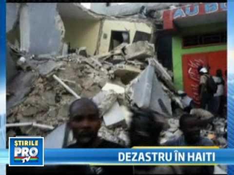 Apocalipsa in Haiti! Un cutremur de 7 grade pe scara Richter a lovit insula