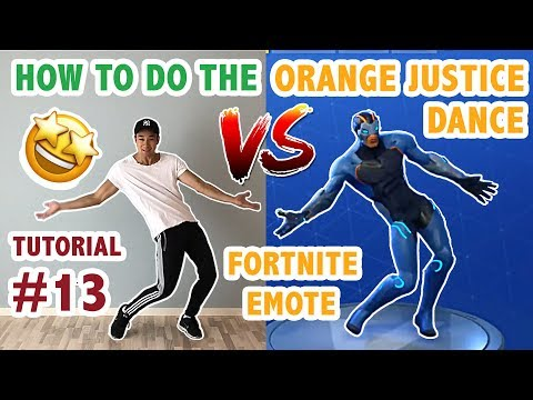 How To Do The Orange Justice Dance In Real Life Advanced & Simple Version (Dance Tutorial #13)