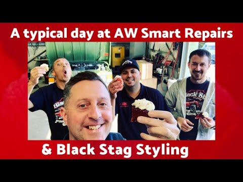 Vehicle repairs, styling and hydro dipping at AW Smart Repairs & Black Stag Styling. Check us out!