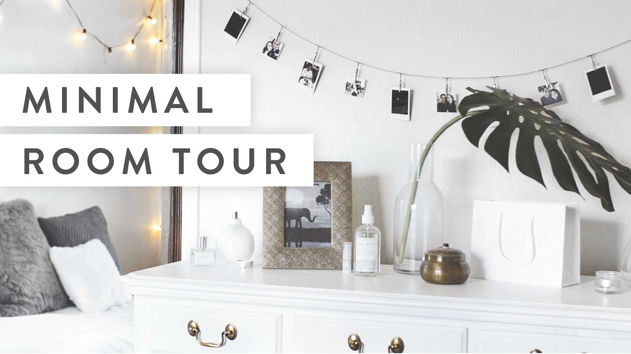 Minimalist Room Minimalist Room Tour  Youtube