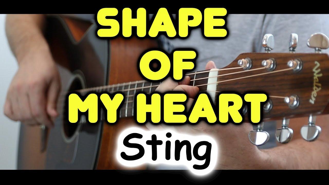 Неожиданно красиво! Как непривычная тональность изменила звучание Shape Of My Heart на гитаре |Sting