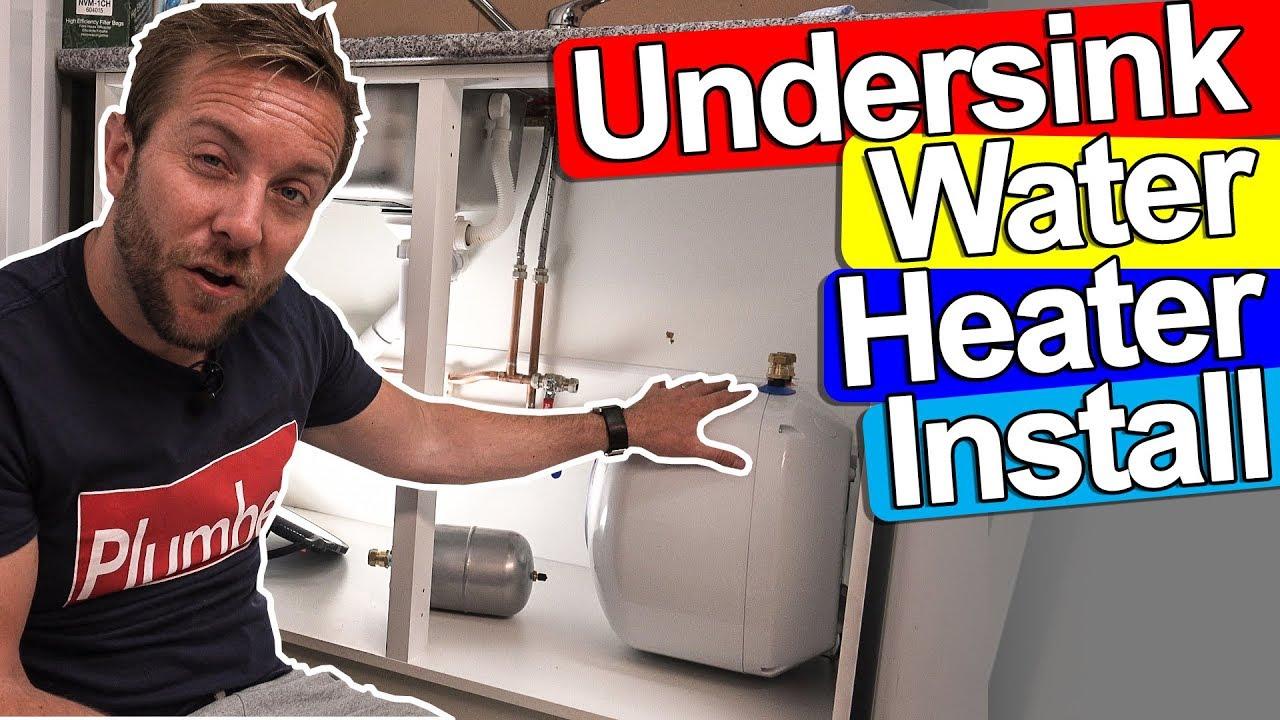 undersink water heater install kingspan undersink heater