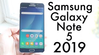 Samsung Galaxy Note 5 In 2019! (Still Worth It?) (Review)