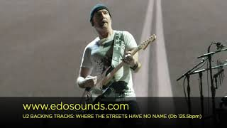 Edosounds - U2 Backing Tracks: WHERE THE STREETS HAVE NO NAME