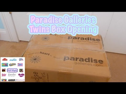 Paradise Galleries Twins Box Opening!