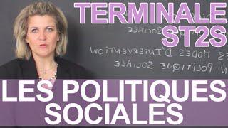 Les politiques sociales - ST2S - Terminale - Les Bons Profs
