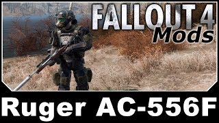 Fallout 4 Mods Ruger AC 556F