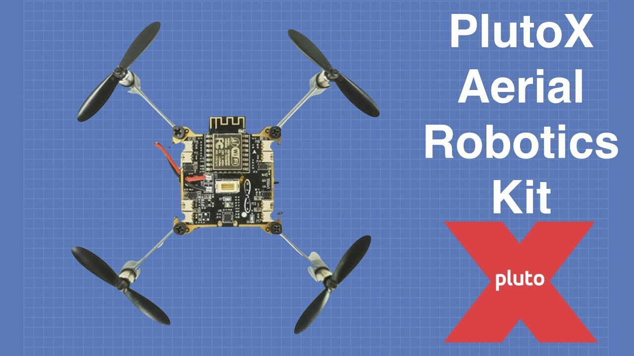 Plutox Aerial Robotics Kit A Diy Drone You Can Program Youtube