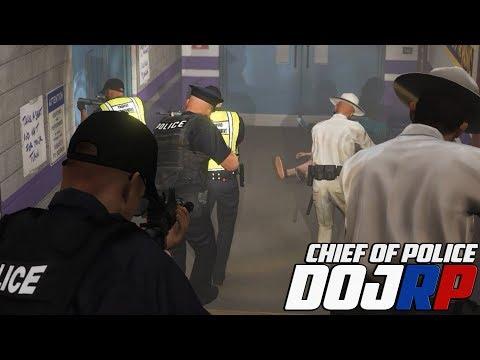 DOJ Chief of Police - Maze Bank Hostage Situation - EP.16
