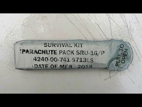 Military Survival Kit Parachute Pack