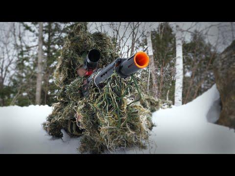 Nerf War: Sniper Vs. Sniper